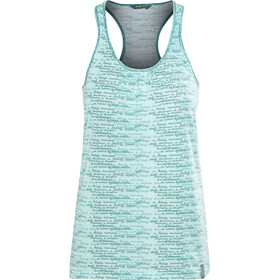Meru Lille Drirelease Top Mujer, turquoise